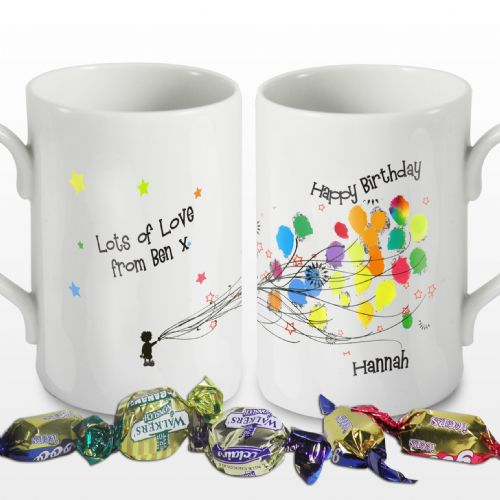 Personalised Balloons Windsor Mug